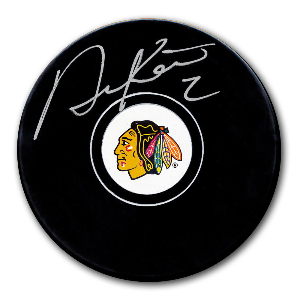 Duncan Keith Chicago Blackhawks Autographed Puck