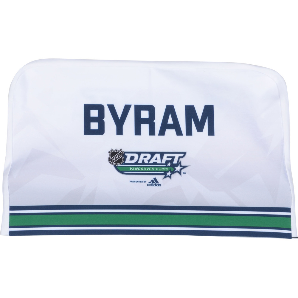 Bowen Byram Colorado Avalanche 2019 NHL Draft Seat Cover - Second set (Not Used)
