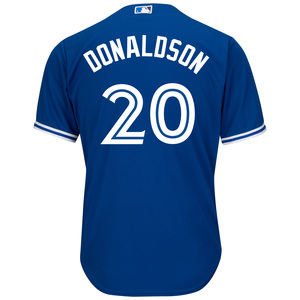 Toronto Blue Jays Cool Base Replica Josh Donaldson Alternate Jersey by Majestic