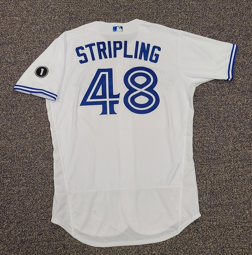 Photo of Authenticated Team Issued Jersey: #48 Ross Stripling (2020 Season). Set 1. Size 46.