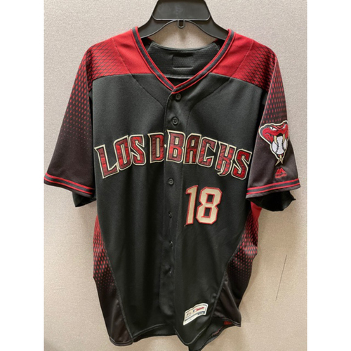 Photo of Carson Kelly 2019 Game-Used Los D-backs Jersey