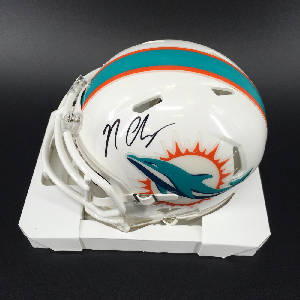 Dolphins - Nick O'Leary Signed Mini Helmet
