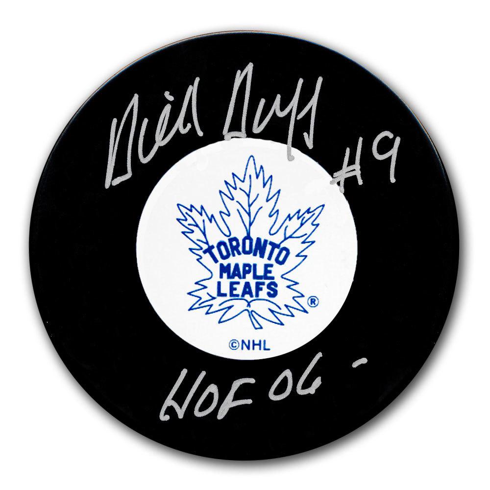 Dick Duff Toronto Maple Leafs HOF Autographed Puck