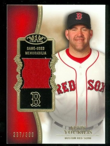 Photo of 2012 Topps Tier One Relics #KY Kevin Youkilis/399