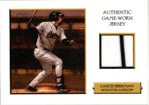 Photo of 2006 Topps Turkey Red Relics White #LB Lance Berkman Jsy