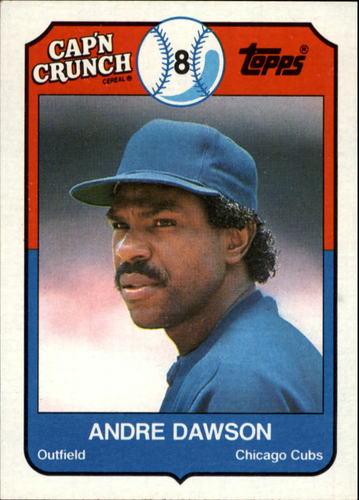 Photo of 1989 Topps Cap'n Crunch #10 Andre Dawson