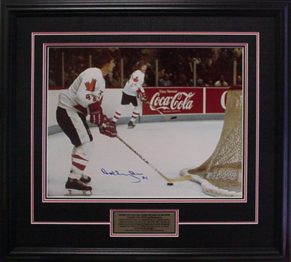 Bobby Orr - Signed & Framed 16x20 - Team Canada - Limited Edition of 176