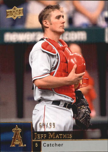Photo of 2009 Upper Deck Gold #694 Jeff Mathis /99