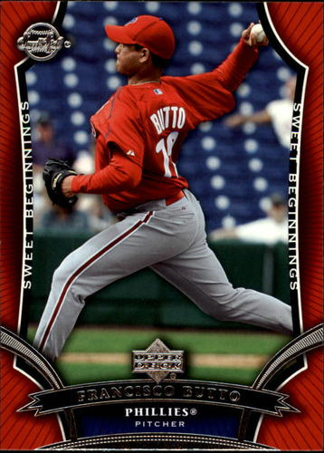 Photo of 2005 Sweet Spot #115 Francisco Butto SB RC