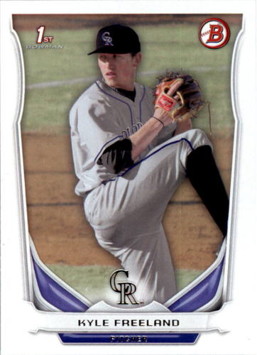 Photo of 2014 Bowman Draft #DP5 Kyle Freeland