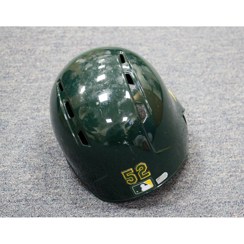 Joey Wendle Game-Used Helmet