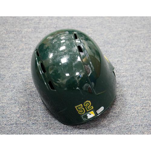 Photo of Joey Wendle Game-Used Helmet
