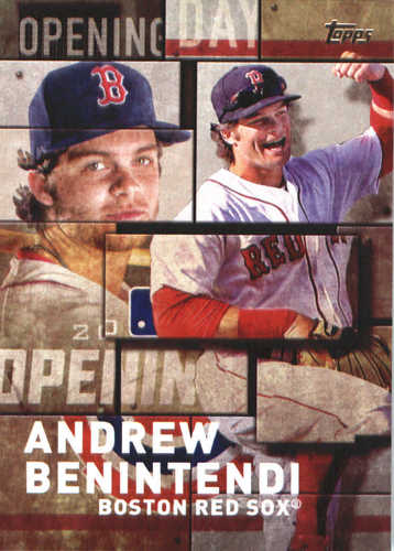 Photo of 2018 Topps Opening Day Insert #OD27 Andrew Benintendi