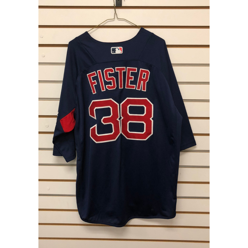 Photo of Doug Fister Team-Issued Road Batting Practice Jersey