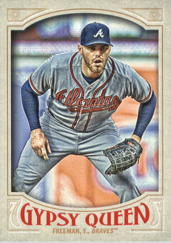Photo of 2016 Topps Gypsy Queen #8A Freddie Freeman/Gray jersey