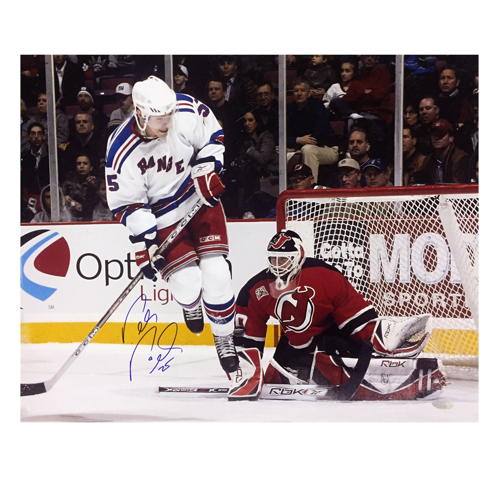 PETR PRUCHA Signed New York Rangers 16 X 20 Photo - 79122