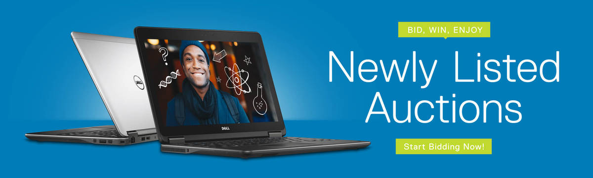 Dell Auction | Bid Now on Refurbished Dell Laptops, Desktops