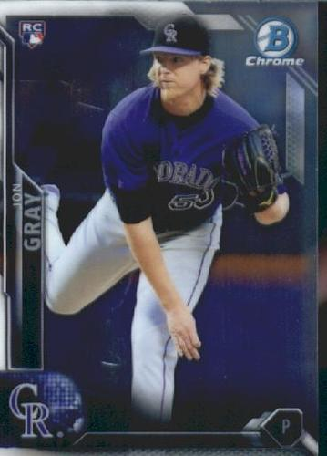 Photo of 2016 Bowman Chrome Vending '16 Bowman #134 Jon Gray