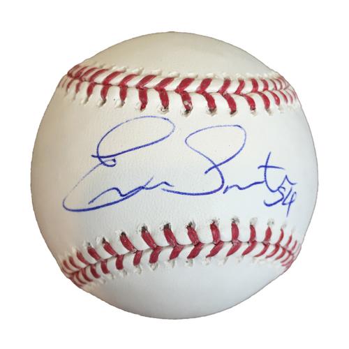 Photo of Autographed Ervin Santana Baseball