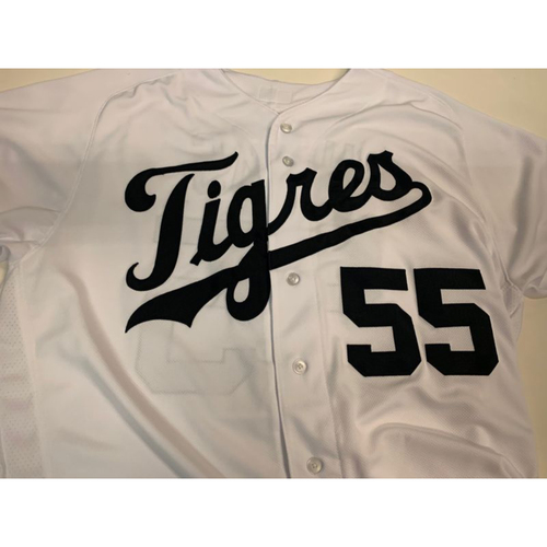 Photo of Team-Issued Fiesta Tigres Jersey: John Hicks