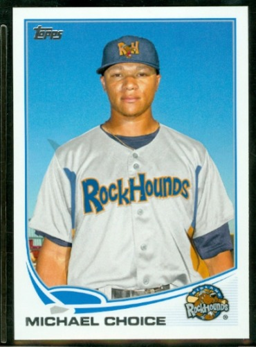 Photo of 2013 Topps Pro Debut #146 Michael Choice