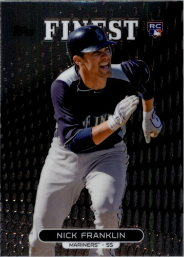 Photo of 2013 Finest #93 Nick Franklin RC