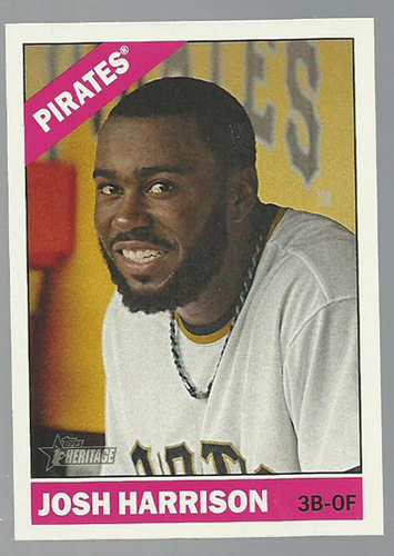 Photo of 2015 Topps Heritage #375 Josh Harrison