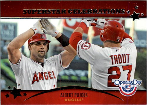 Photo of 2013 Topps Opening Day Superstar Celebrations #SC3 Albert Pujols