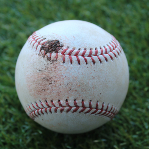 Photo of Game-Used Baseball: Ivan Nova Pitched Strikeout to Alex Gordon (CWS @ KC - 6/7/19)