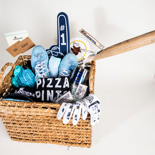 "Photo of Austin Hedges ""Favorite Things"" Basket"