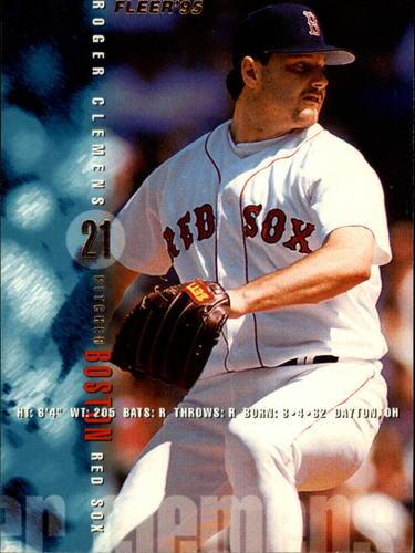 Photo of 1995 Fleer #26 Roger Clemens