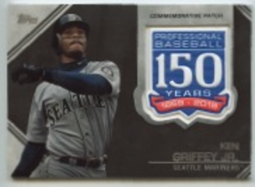 Photo of 2019 Topps Update 150th Anniversary Manufactured Patches #AMPKG Ken Griffey Jr.