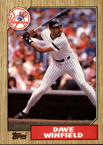 Photo of 1987 Topps #770 Dave Winfield