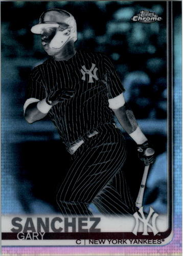 Photo of 2019 Topps Chrome Negative Refractors #22 Gary Sanchez