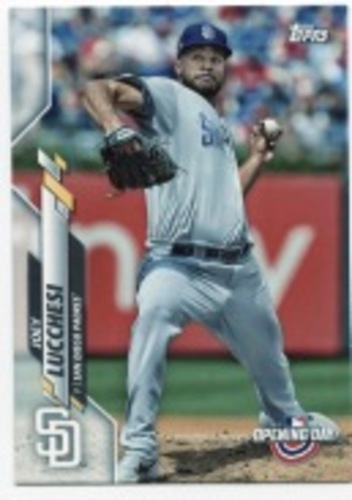Photo of 2020 Topps Opening Day #119 Joey Lucchesi