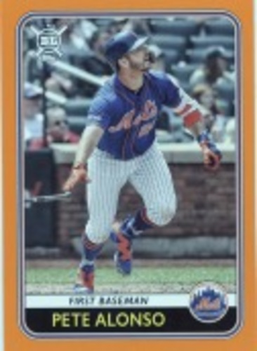 Photo of 2020 Topps Big League Orange #29 Pete Alonso