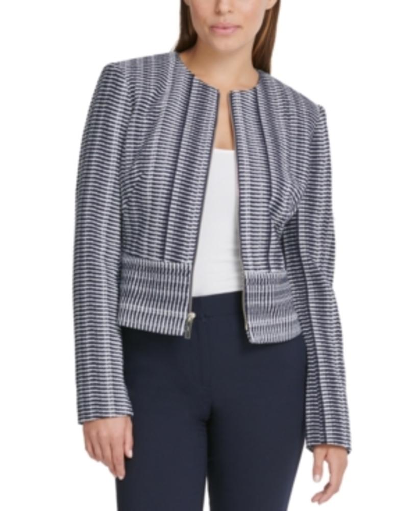 Photo of Dkny Printed Zippered Jacket