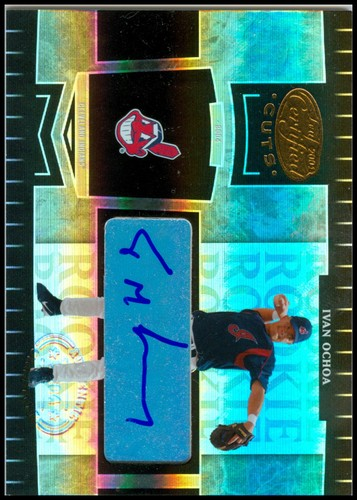 Photo of 2004 Leaf Certified Cuts #270 I.Ochoa ROO AU/499 RC