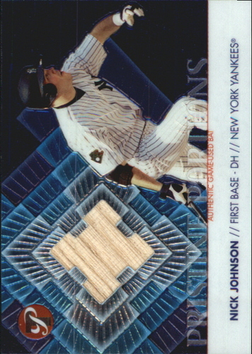 Photo of 2002 Topps Pristine Portions #NJ Nick Johnson Bat B