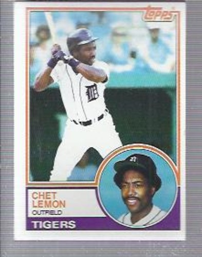 Photo of 1983 Topps #727 Chet Lemon