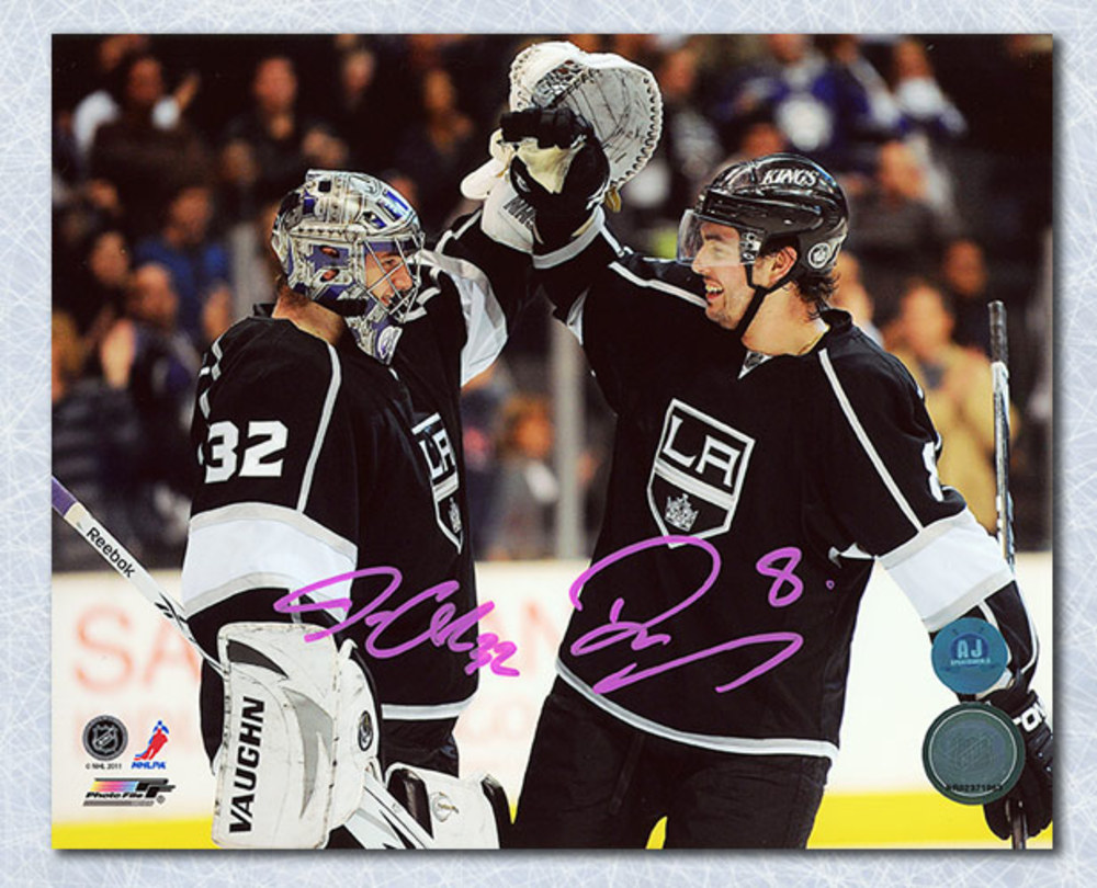 Drew Doughty & Jonathan Quick Los Angeles Kings Dual Signed 8x10 Photo