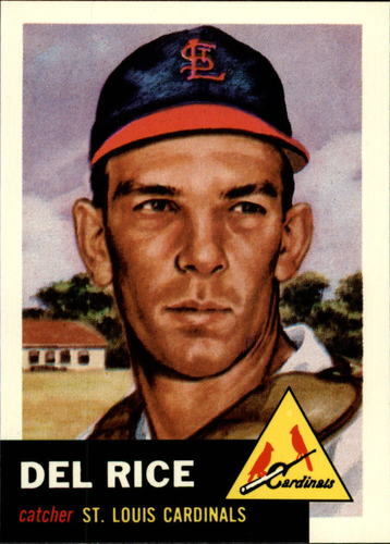 Photo of 1991 Topps Archives 1953 #68 Del Rice