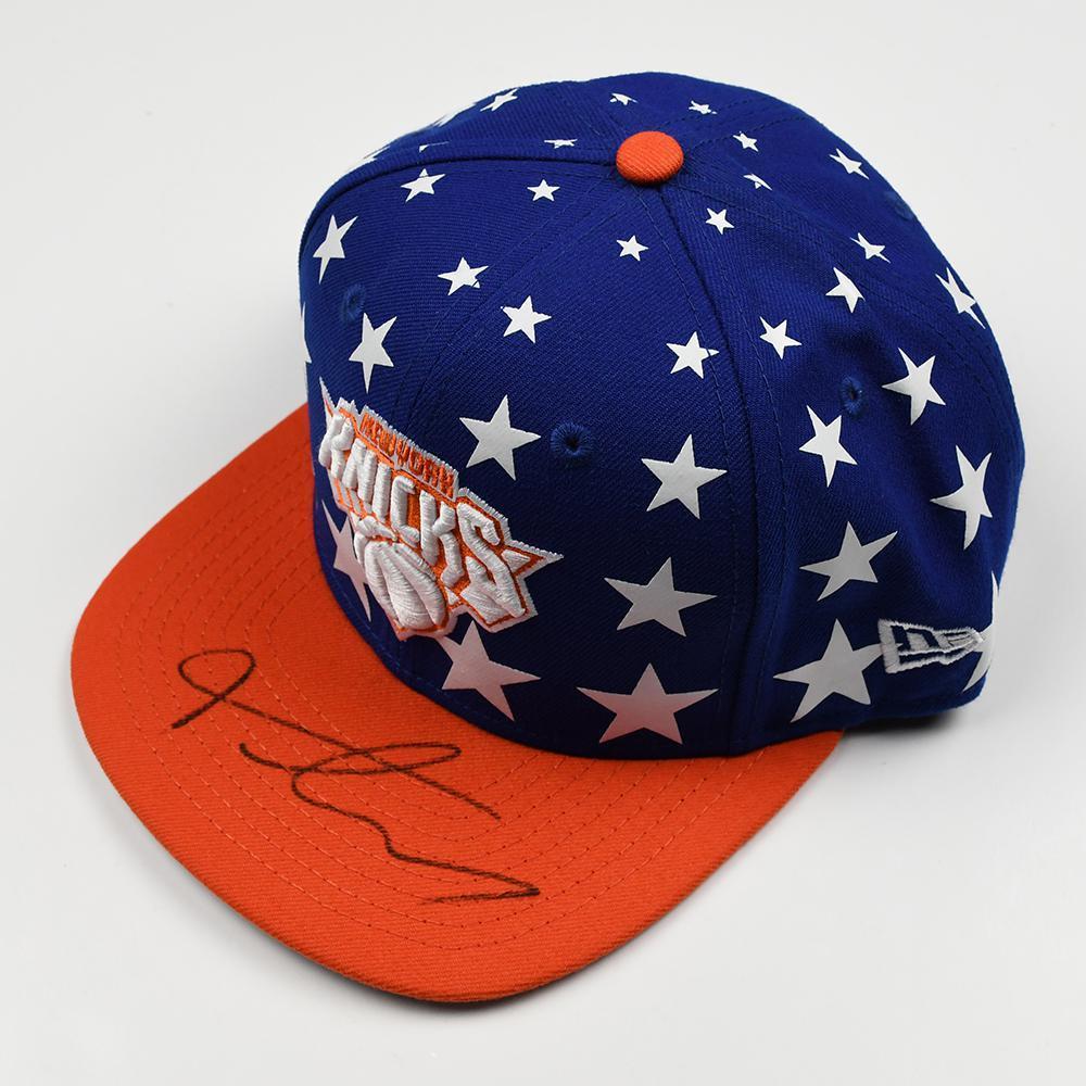 Frank Ntilikina - New York Knicks - 2017 NBA Draft - Autographed Hat