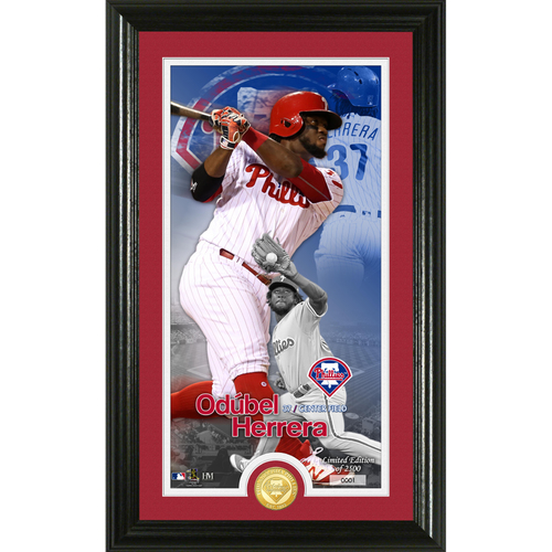 Photo of Odubel Herrera Supreme Bronze Coin Photo Mint