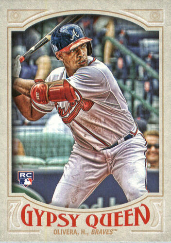Photo of 2016 Topps Gypsy Queen #9 Hector Olivera RC