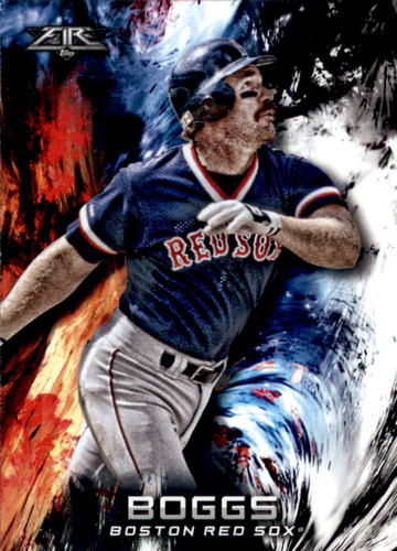 Photo of 2018 Topps Fire #57 Wade Boggs