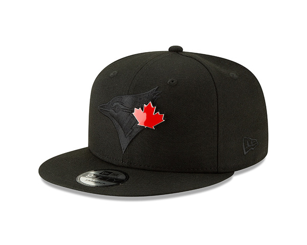 Toronto Blue Jays Tonal Metal and Thread Snapback Cap by New Era
