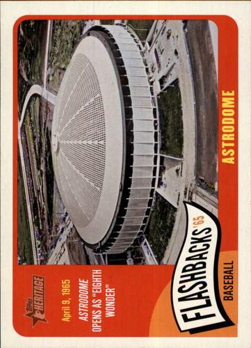 Photo of 2014 Topps Heritage Baseball Flashbacks #BFA Astrodome