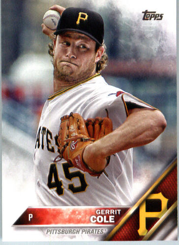 Photo of 2016 Topps #452A Gerrit Cole