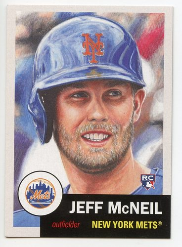 Photo of 2019 Topps Living #194 Jeff McNeil Rookie Card